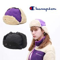CHAMPION Unisex Blended Fabrics Collaboration Hats & Hair Accessories