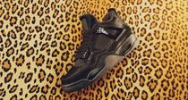 Nike AIR JORDAN 4 Casual Style Street Style Collaboration Low-Top Sneakers