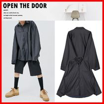 OPEN THE DOOR Unisex Street Style Long Sleeves Shirts & Blouses