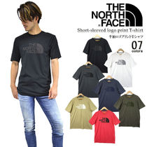 THE NORTH FACE Nylon Street Style T-Shirts