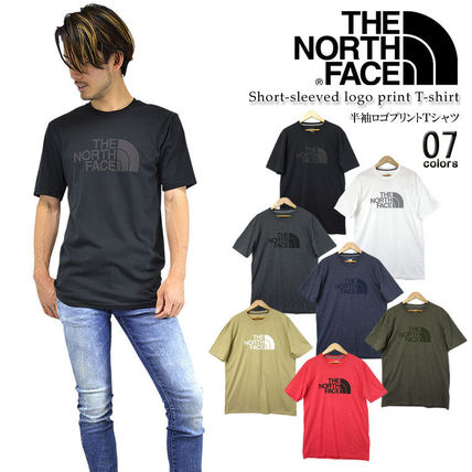 THE NORTH FACE More T-Shirts Nylon Street Style Outdoor T-Shirts