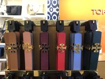Tory Burch Plain Leather Elegant Style Belts