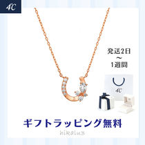 4℃ Casual Style Animal Chain Silver Office Style Elegant Style