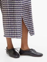 GABRIELA HEARST Casual Style Velvet Street Style Other Animal Patterns Flats