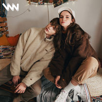 WV PROJECT Unisex Wool Street Style Plain Oversized Jackets