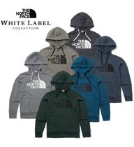 THE NORTH FACE Unisex Street Style Plain Hoodies