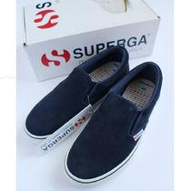 SUPERGA Suede Collaboration Plain Low-Top Sneakers