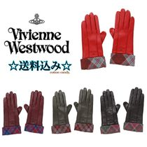 Vivienne Westwood Star Leather Leather & Faux Leather Gloves