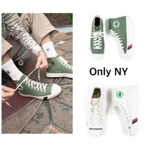 ONLY NY Unisex Street Style Collaboration Plain Sneakers