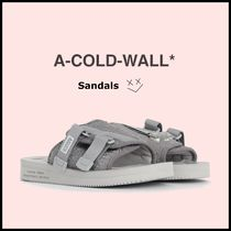 A-COLD-WALL Street Style Plain Sport Sandals Sports Sandals