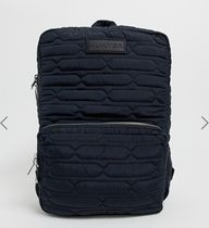 HUNTER Casual Style Street Style A4 Plain Backpacks