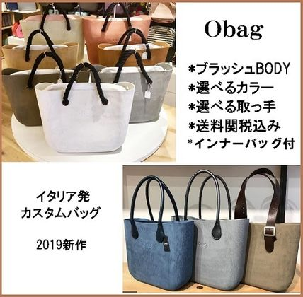Casual Style Faux Fur A4 Plain Office Style Totes