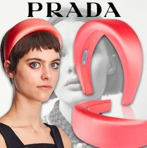 PRADA Costume Jewelry Casual Style Street Style Party Style