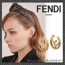 FENDI Casual Style Blended Fabrics Party Style Office Style