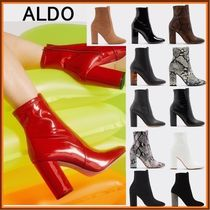 ALDO Plain Toe Casual Style Faux Fur Plain Other Animal Patterns
