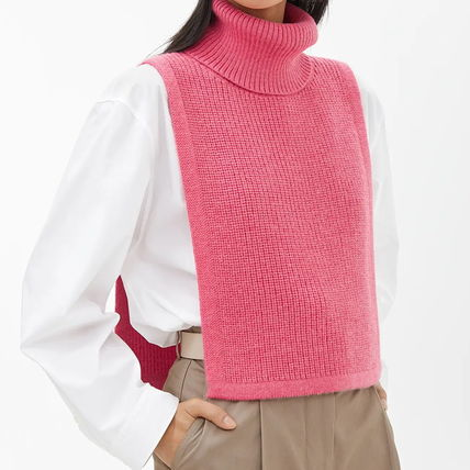 Casual Style Unisex Wool Plain Accessories