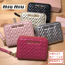 MiuMiu Leather Coin Purses