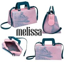Melissa Casual Style PVC Clothing Shoulder Bags