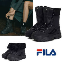 FILA Disruptor 2 Mountain Boots Casual Style Plain Office Style Outdoor Boots