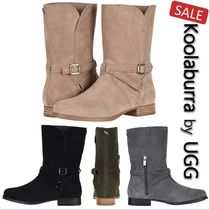 Koolaburra Round Toe Casual Style Plain Ankle & Booties Boots