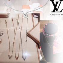Louis Vuitton Costume Jewelry Casual Style Special Edition Silver
