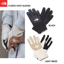 THE NORTH FACE WHITE LABEL Unisex Studded Street Style Plain Touchscreen Gloves