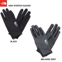 THE NORTH FACE WHITE LABEL Unisex Studded Street Style Plain Smartphone Use Gloves