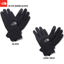 THE NORTH FACE Unisex Studded Street Style Plain Smartphone Use Gloves