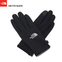 THE NORTH FACE Unisex Studded Street Style Plain Touchscreen Gloves