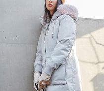 THE NORTH FACE WHITE LABEL Street Style Down Jackets