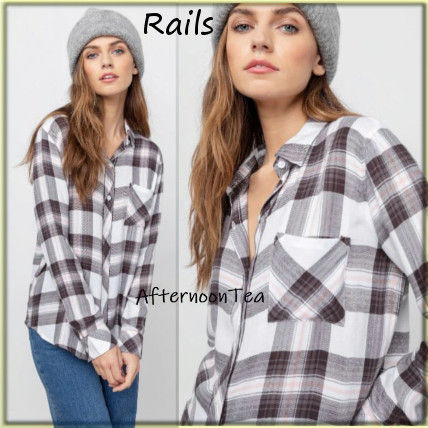 Other Plaid Patterns Long Sleeves Medium Handmade