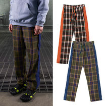 Double AC Tartan Unisex Street Style Cotton Lounge & Sleepwear