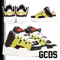GCDS Street Style Leather Sneakers