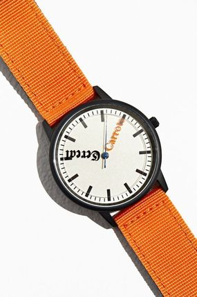 Unisex Street Style Collaboration Analog Watches