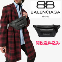 BALENCIAGA EVERYDAY TOTE Unisex Street Style Leather Bags