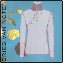 Dries Van Noten Flower Patterns Tropical Patterns Nylon Long Sleeves Plain