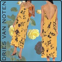 Dries Van Noten Flower Patterns Tropical Patterns Cropped Medium Long