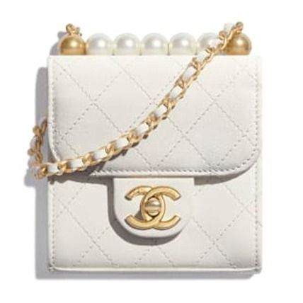 CHANEL Chain Plain Leather Party Style Elegant Style Logo Clutches