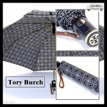 Tory Burch Monogram Umbrellas & Rain Goods