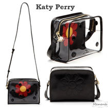 Katy Perry Flower Patterns Dots Casual Style Shoulder Bags