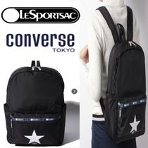 CONVERSE Star Casual Style Unisex Nylon Street Style Collaboration A4