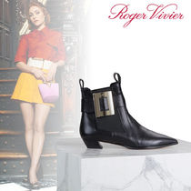 Roger Vivier Leather Ankle & Booties Boots