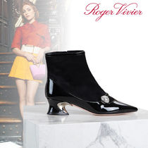 Roger Vivier Enamel Ankle & Booties Boots