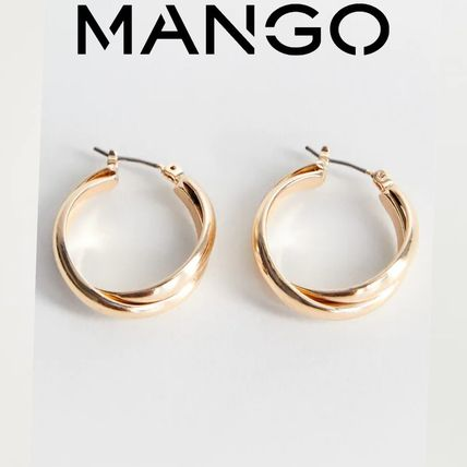 Casual Style Brass Earrings