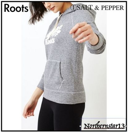 Sweat Long Sleeves Plain Medium Logo Hoodies & Sweatshirts