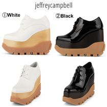 Jeffrey Campbell Platform Casual Style Plain Loafer & Moccasin Shoes