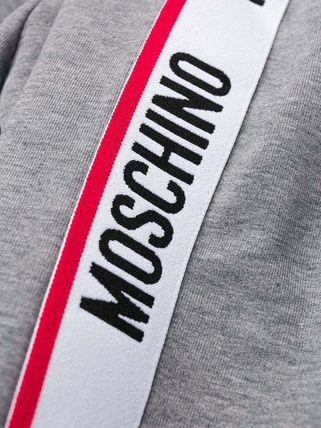 Moschino Hoodies Long Sleeves Cotton Logos on the Sleeves Hoodies 14