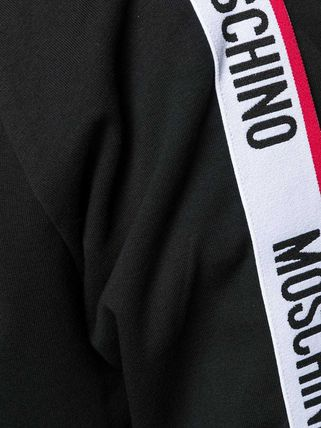 Moschino Hoodies Long Sleeves Cotton Logos on the Sleeves Hoodies 20