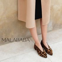 Malababa Casual Style Leather Handmade Office Style Elegant Style