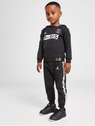 Nike AIR JORDAN Unisex Street Style Collaboration Co-ord Baby Girl Tops